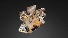 3D тур Matterport по 3-х комнатной квартире на ул. М. Якиманка