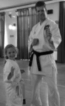 Sensei Mark and daughter