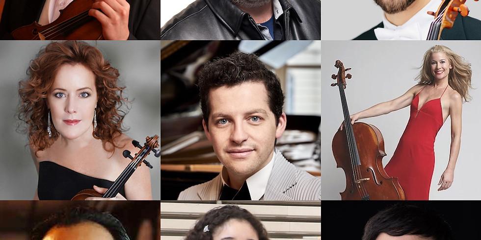 Stravinsky, Halvorsen, Brahms, Schumann