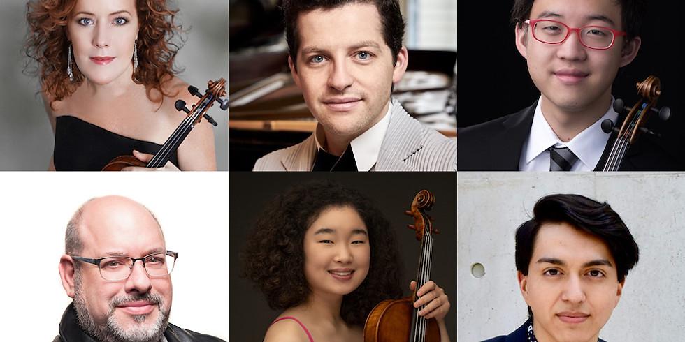 Chamber Music: Debussy, Mozart, Dohnanyi, Brahms