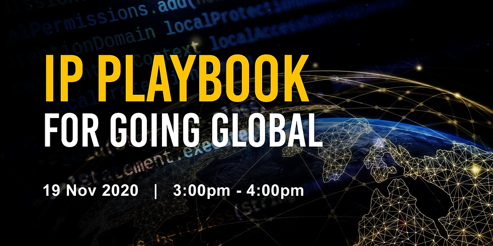 Go International: IP Playbook for Going Global