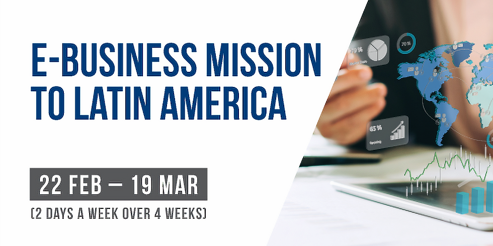 Welcome Event for Latam E-Business Mission