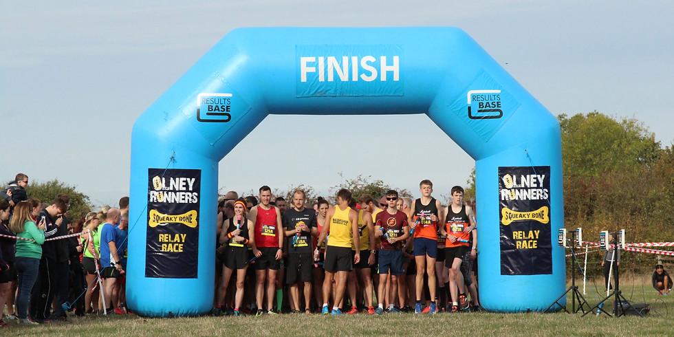 Squeaky Bone Relay & (sort of half) Marathon