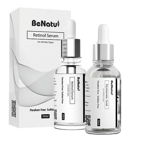 レチノール+ヒアルロン酸美容液セット
