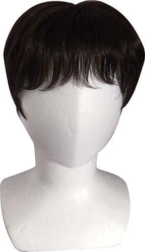 人工毛ボリュームトップヘアピース3色