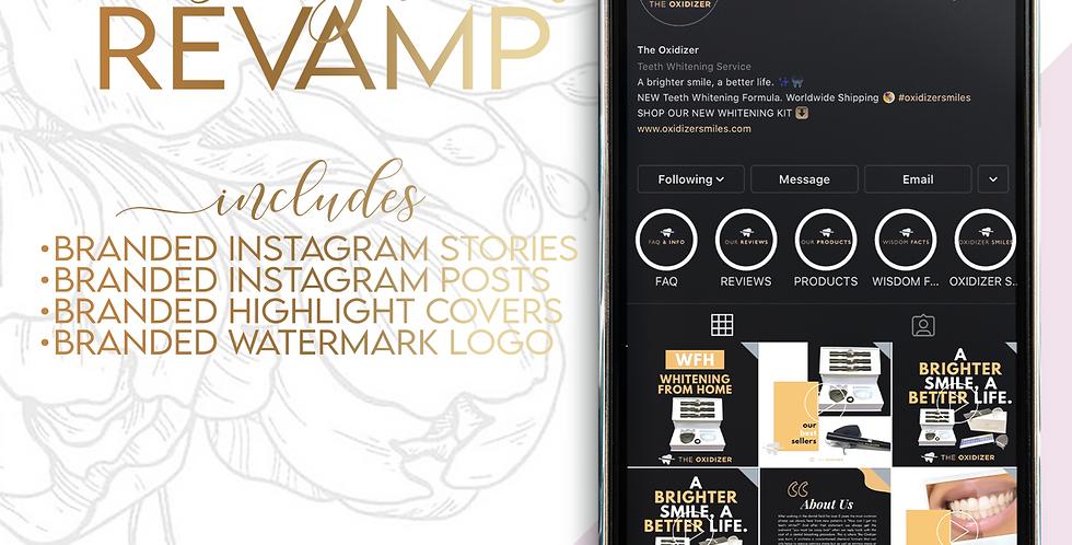 Instagram Brand Identity Revamp