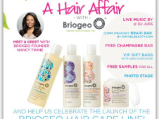 EVENT: SAVE THE DATE, RICKY'S NYC WELCOMES BRIOGEO HAIR CARE!