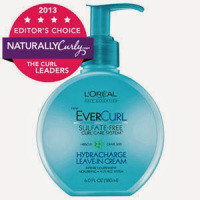 L'OREAL EVERCURL SULFATE-FREE HYDRACHARGE SHAMPOO AND LEAVE-IN CREAM PRODUCT REVIEW