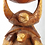 Thumbnail: Wooden Double Turtle 23.5inches high