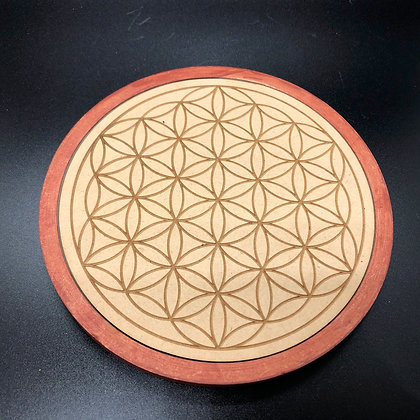 Flower of Life Plate (P-4)