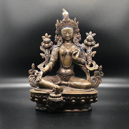Green Tara statue (A-3)