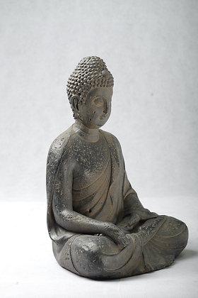 Resin Buddha 11.5 in high statue