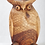 Thumbnail: Wooden Owl 19.5 inches high