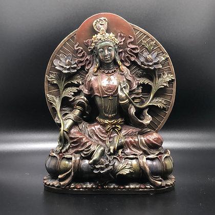 Green Tara statue (A-2)