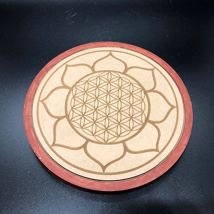 Flower of Life Plate (P-5)
