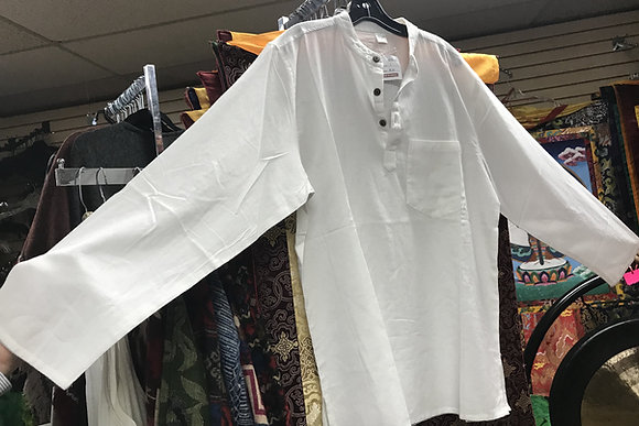 Men's pre washed cotton shirt from Napal