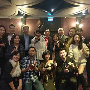 The Party台灣商業總會和中華經濟戰略發展協會年終尾牙
