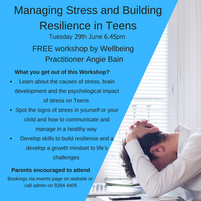 Managing Stress and Building Resilience in Teens