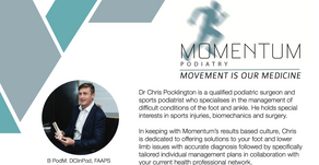 Momentum Podiatry Services available at PROmotion