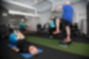 Balace strength class over 60s exercise physiology perth
