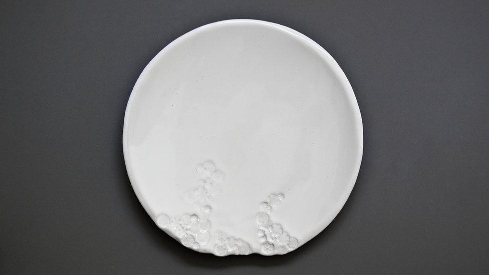 Talerz obiadowy White