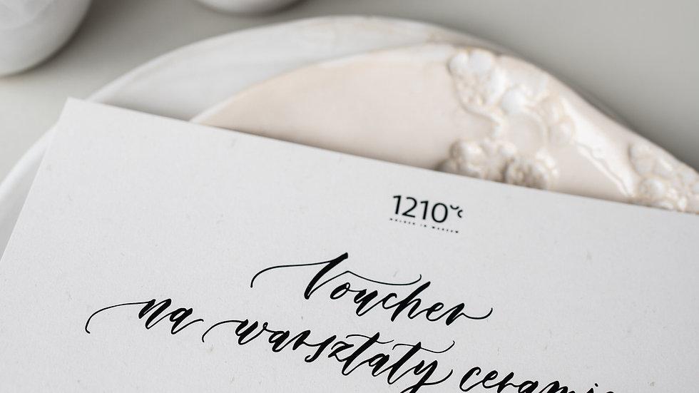 Voucher na warsztaty ceramiczne