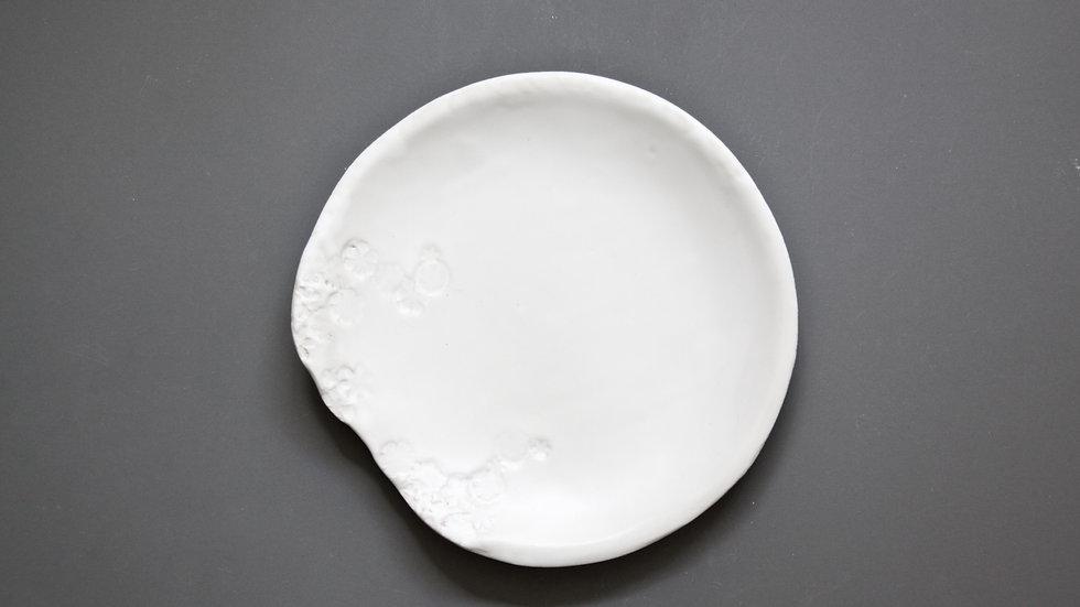Talerzyk deserowy White