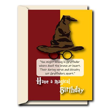 Sorting hat- Gryffindor