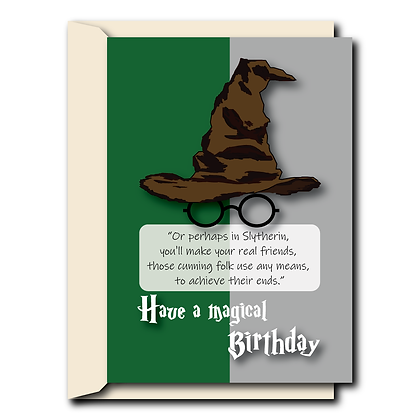Sorting hat- Slytherin