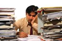 The Price of Doing Office Paperwork and Tasks Yourself