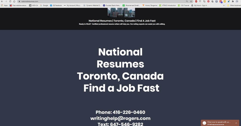 National Resumes