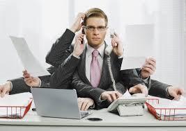 Multi-tasking Man