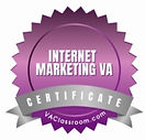 Internet Marketing VA Certificate.jpg