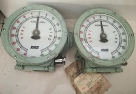 RUDDER ANGLE INDICATOR DAEYANG DIC-SD-200R DAEYANG DIC-200R DAEYANG SD200 We have for sale worldwide