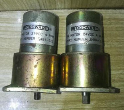 5484 – 721 WOODWARD MOTOR PART NO: 5484-721 VOLTS: 24V DC RPM: 4 Governor motor GM 9412G262 17
