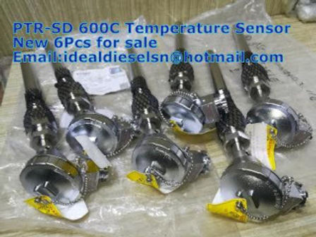 PTR SD Temperature Sensor PTR-SD 600C PF3/4 L=200MM DWG Resistance bulb for Exh Gas Temp pt100 Main