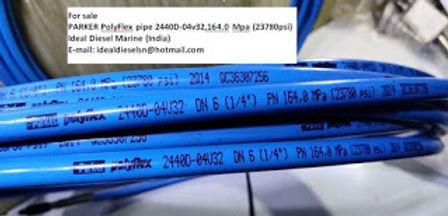 "For sale: PARKER PolyFlex 2440D – 04v32 DN6 ( 1/4"") PN16 164.0 Mpa (23780psi) Length : 50 feet &"