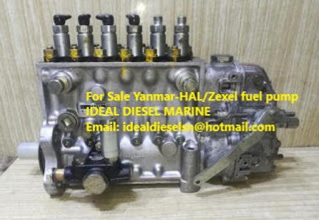 Yanmar 126654-51013 ZEXEL 106692-9173 new pump HAL YANMAR HAL FUEL PUMP 106692-9173 791Y092828 10606