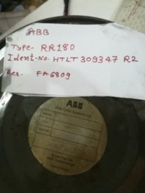 RR180 ABB BEARING SEALED PACK WE HAVE FOR SALE RR180 TURBO BEARING Ident no HTLT309347 R2 E-mail: id