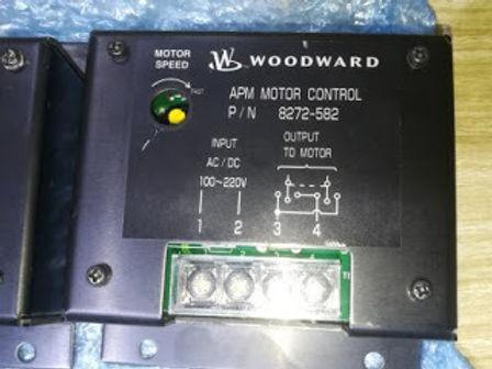 8272-582 APM MOTOR CONTROL Woodward 8272-582 24 V dc Motor Power supply SG PSG 3161 Sawamura Pittman
