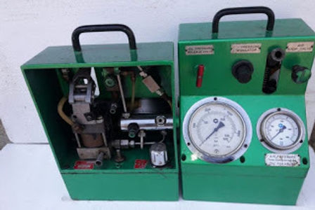 GOLTENS G1400 HIGH PRESSURE PUMP PNEUMATIC OPERATE RECONDITIONED WE SALE AND EXPORT IN REASONABLE PR