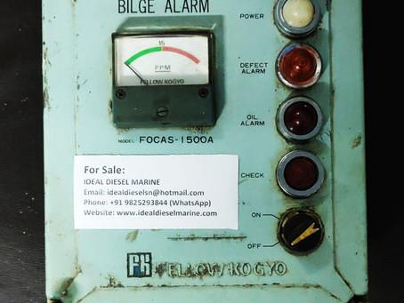 For Sale: FOCAS - 1500A Fellow Kogyo BILGE ALARM Monitor Email: idealdieselsn@hotmail.com