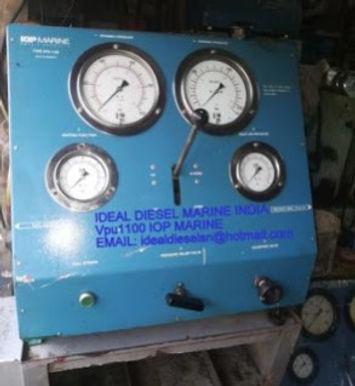 VPU1100 iop marine OBEL PRODUCTS Reconditioned fuel valve Tester VTU1100MK2 , hpu1500 & hpu1500-