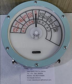 Nabtesco telegraph indicator 73751140 – 23 rpm indicator Astern ahead Engine order telegraph E