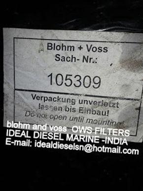blohm and voss ows filters blohm voss filters tcs 105285 105309 105286 TCS 2.5HD blohm + voss filter