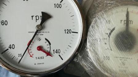 MITSUBISHI AKASAKA MAIN ENGINE RPM METER FKS RPM METER FUKUI KEIKI RPM METER DAIHATSU RPM METER YANM