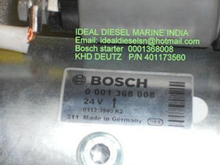 0001368008 BOSCH STARTER 0001368008 BOSCH ELECTRIC NEW STARTER MOTOR For sale 0001368008 BOSCH start