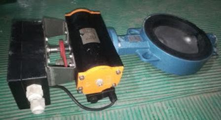 EBRO ARMATUREN Type EB6 DW DN150 pneumatic valve EBRO ARMATUREN Type EB6 DW Air supply 10bar torque