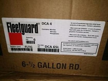COOOLANT ADDITIVE MAKE- FLEETGUARD USA -TYPE-DCA4 [DCA65L] coolant fleetguard coolant IDEAL DIESEL M