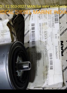 For sale : MAN 51125030027 Filter MANN 943/1 51.12.503-0027 Email: idealdieselsn@hotmail.com INDIA W